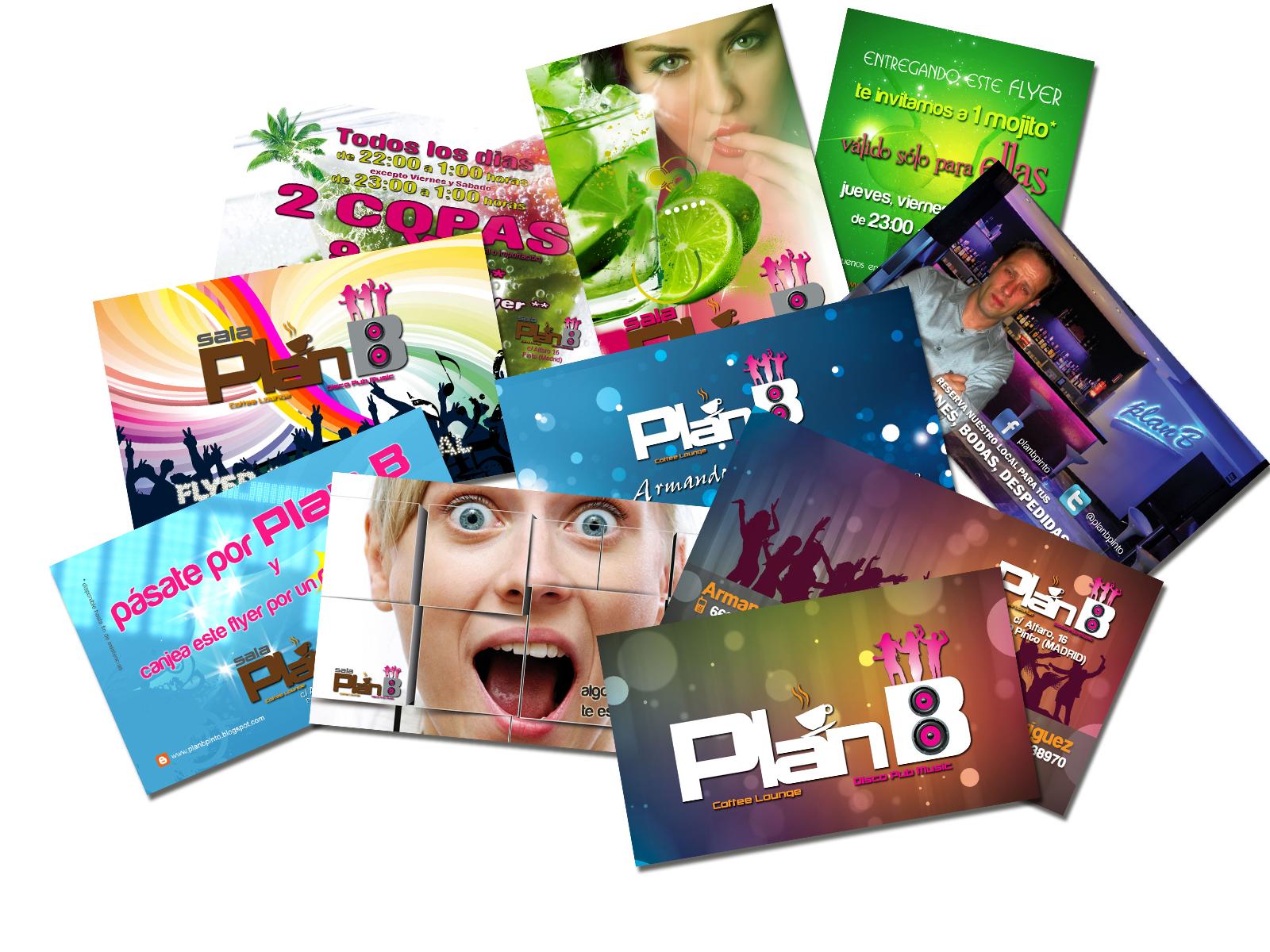 flyers y tarjetas